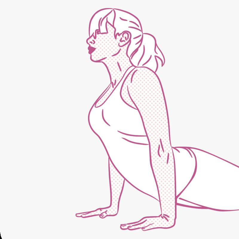 Pop-art joga 2