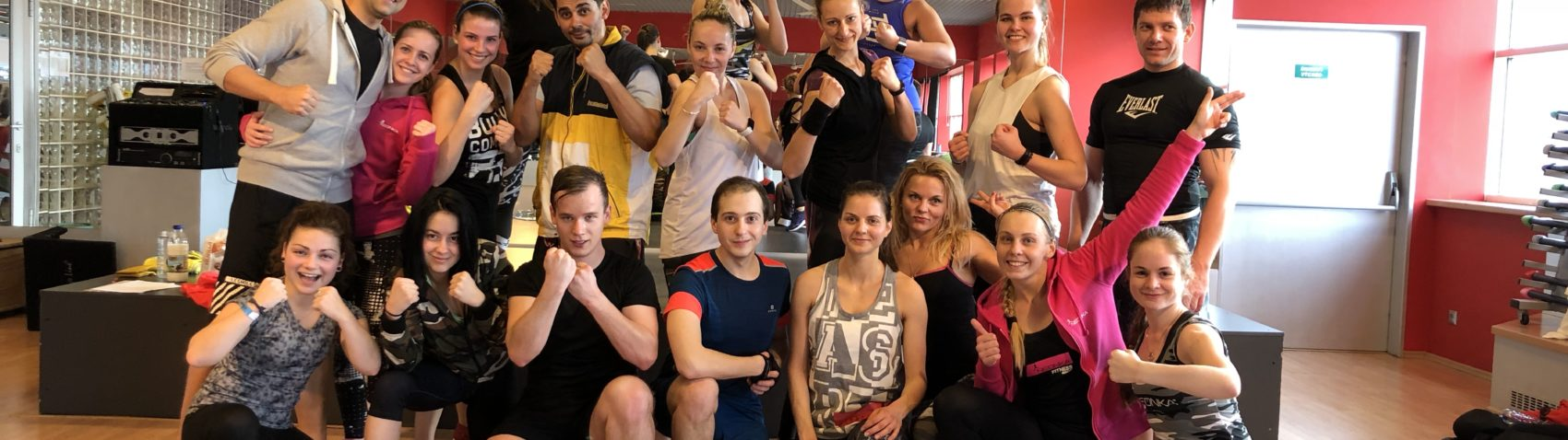 Skupinová fotografie ze školení